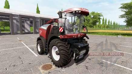Krone BiG X 580 tuning edition v1.1 para Farming Simulator 2017