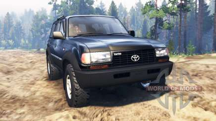 Toyota Land Cruiser 80 VX para Spin Tires