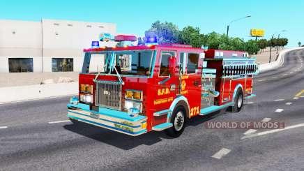 Camión de bomberos para American Truck Simulator