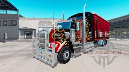 Kenworth W900 torton para American Truck Simulator