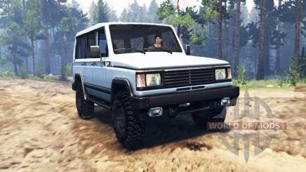 UAZ-3170 Simbir v2.0 para Spin Tires