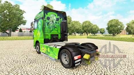 El reino de piel para DAF camión para Euro Truck Simulator 2