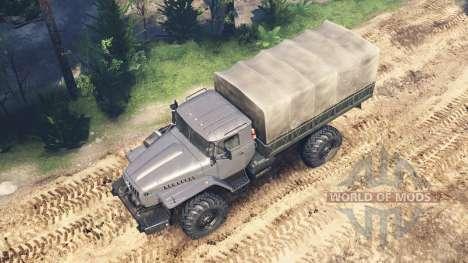 Ural-43206 v2.0 para Spin Tires