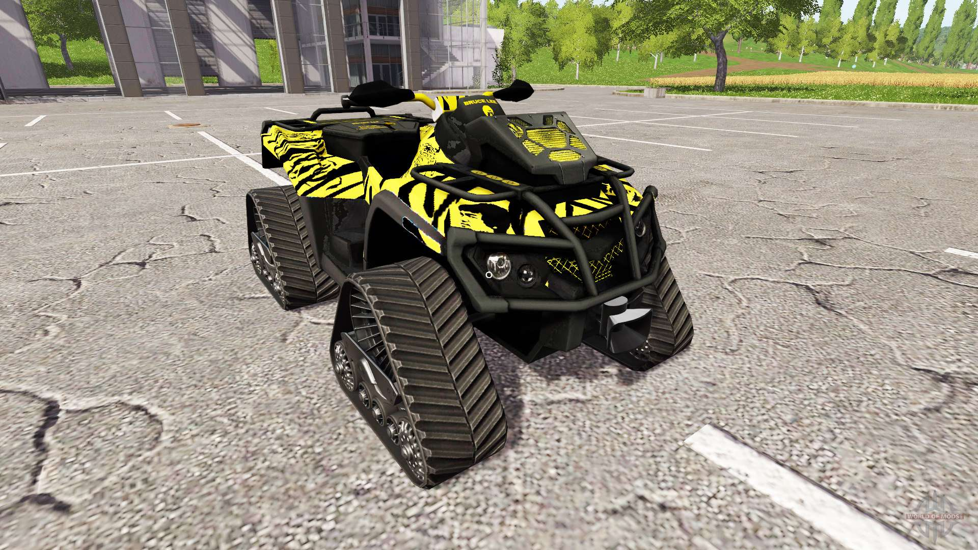can am outlander 1000 xt bruce lee para farming simulator 2017. Black Bedroom Furniture Sets. Home Design Ideas