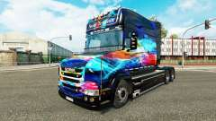 Neón de la piel para camión Scania T