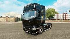 Piel de dragón para camión Scania