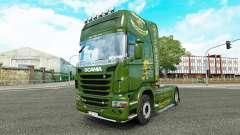 Vabis de la piel para Scania camión