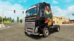 Escorpión de la piel para camiones Volvo