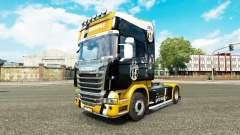 La Juventus de la piel para Scania camión