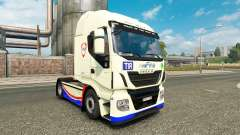 La piel FINA en el camión Iveco Hi-Way