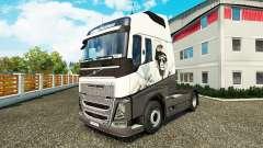 Cool piel de León para camiones Volvo