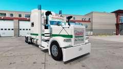 La piel de Krispy Kreme para el camión Peterbilt