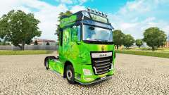 El reino de piel para DAF camión