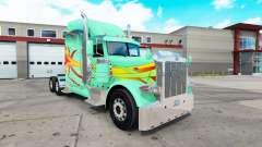 Hoffman de la piel para el camión Peterbilt 389