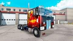 Dragón de Fuego de la piel para el camión Peterb