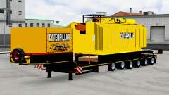 Baja de barrido con transformador de Caterpillar