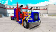 Optimas Prime skin para el camión Peterbilt 389