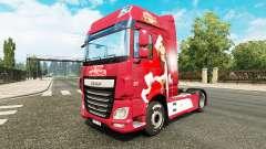 La navidad de la piel para DAF camión