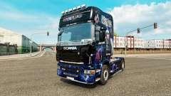 La piel de AC-DC-para camiones Scania