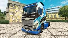 R. Thurhagens de la piel para camiones Volvo