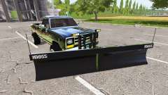 Dodge Power Ram plow