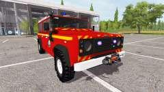 Land Rover Defender 110 feuerwehr