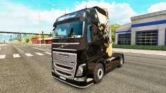 Luz agonizante de la piel para camiones Volvo