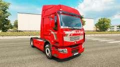Amelung de la piel para Renault Premium camión