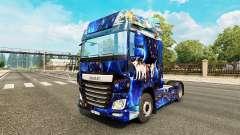 La fantasía de la piel para DAF camión