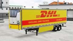 La piel de DHL para frigoríficos semi-remolque