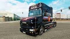 Rusia de la piel para Scania camión T