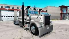 Creisler de la piel para el camión Peterbilt 389