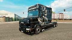 Dark Reaper de la piel para camión Scania T