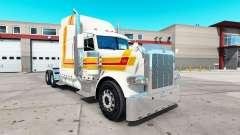 Faro de la piel para el camión Peterbilt 389