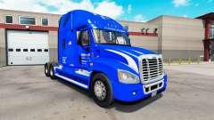 La piel de Walmart en el tractor Freightliner Ca