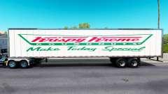 La piel de Krispy Kreme en el remolque
