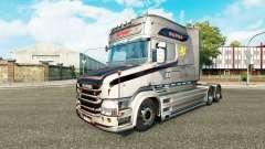 El Vabis V8 Metálico de la piel para camión Scan