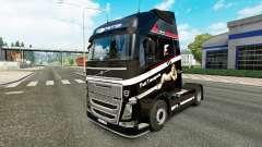 Rápido Transporte de la piel para camiones Volvo