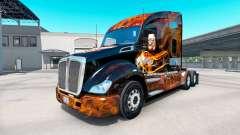 La piel de Harley-Davidson de camiones en Kenwor