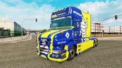 Michelin piel para camión Scania T