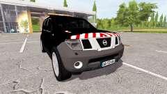 Nissan Pathfinder (R51) escorte