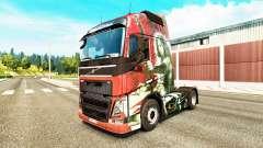 La piel de la Cuchilla para camiones Volvo