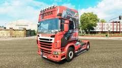 Diseño de la piel en la N7 tractor Scania