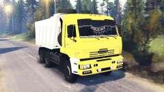 KamAZ-65111 v1.5 para Spin Tires