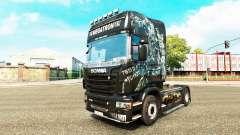 Megatron de la piel para Scania camión