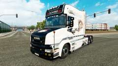 Gagarin de la piel para camión Scania T