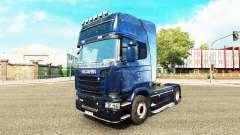 La piel Kosmos en el tractor Scania