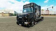 Silver Dragon piel para Scania camión T