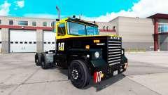 La piel de la Oruga tractor Scot A2HD