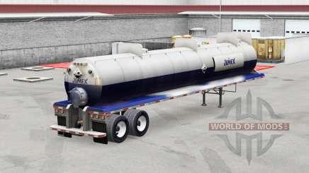 Jumex de la piel en el trailer de ácidos para American Truck Simulator